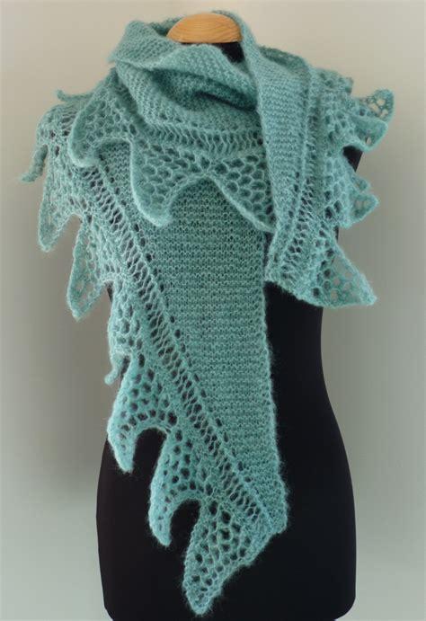 crescent shawl knitting pattern shark knitting patterns in the loop knitting