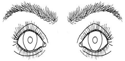 color de los ojos dibujos para colorear imagixs figuras para colorear de ojo imagui