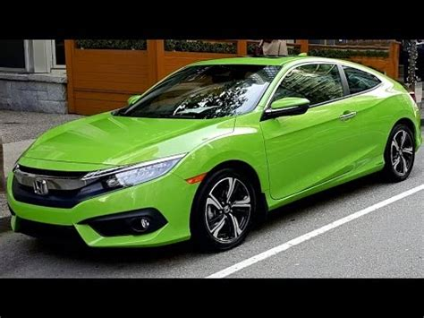 2016 honda civic coupe review style and value