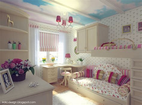 stylish girls bedrooms pink white blue girls room interior design ideas