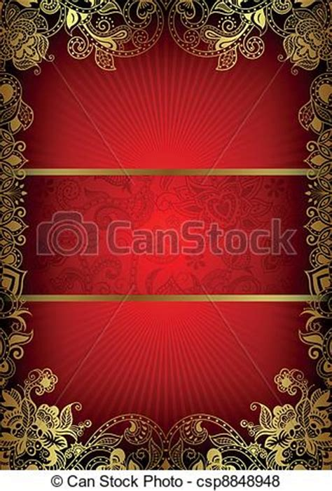 vector  book cover design illustration  abstract red