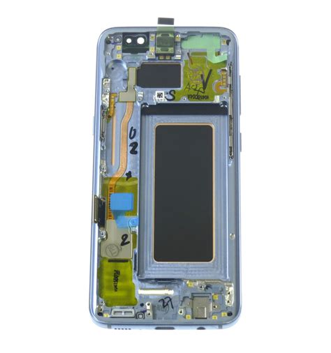Lcd Samsung S8 lcd touch screen front panel blue original for samsung