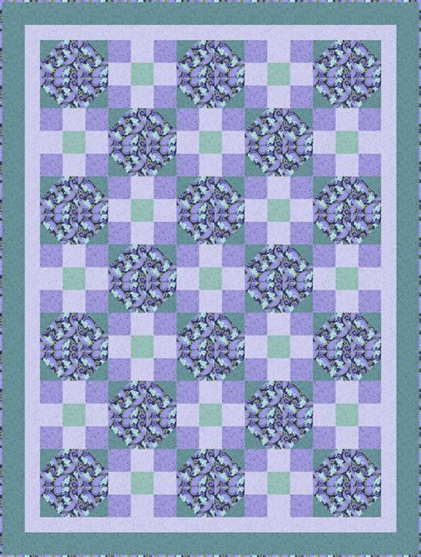 Lilac Quilt by Lilac Festival Quilt Pattern Bs2 400 Advanced Beginner