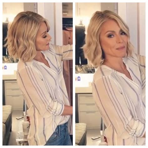 how to get ripa wavy hair 1964 best fashion images on pinterest kelly ripa woman