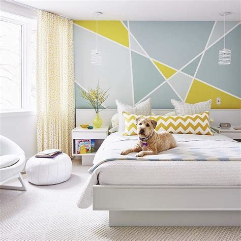 Ideas For Painting Bedroom Walls 25 best ideas about geometric wall on pinterest
