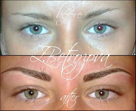 tattoo eyebrows montreal 17 best images about permanent make up on pinterest a