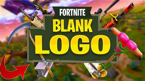 How To Make A Blank Fortnite Logo Adobe Photoshop Cs6 Tutorial Youtube Fortnite Logo Template