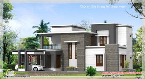 2400 sq feet modern contemporary villa kerala home design and floor plans september 2012 kerala home design and floor plans