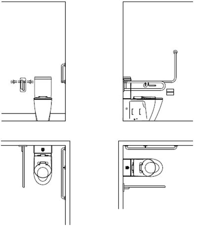 disabled toilet layout victoria can an accessible disabled toilet be used as an ambulant