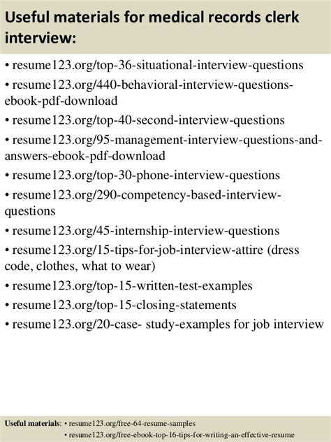 medical records clerk resume medical records analyst resume sample
