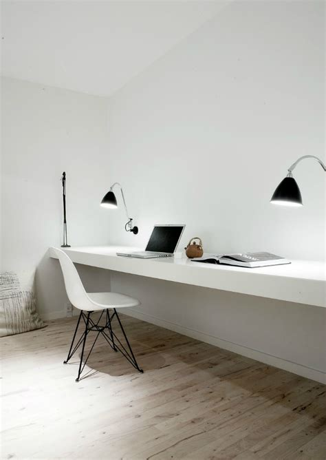 minimal work desk interior design trends 2016 7 great simple home office