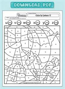 color by letter worksheets color by letter worksheet rringband