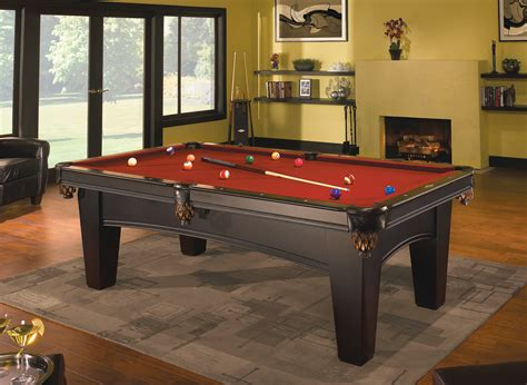 brunswick contender bayfield 8 ft pool table