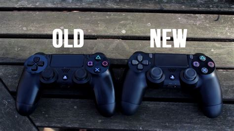 ps4 controller vs new ps4 controller comparison