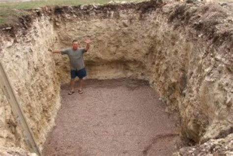 backyard bunker when this man dug up his backyard nobody expected this outcome lifedaily