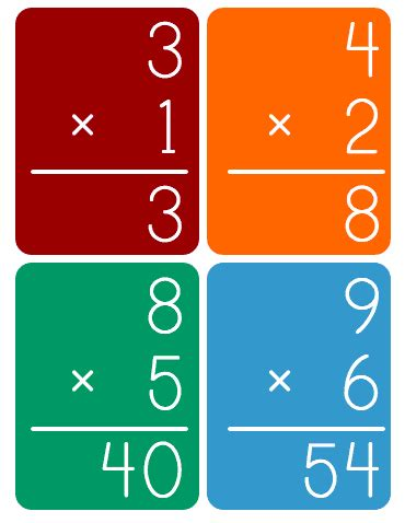 printable multiplication fl by robin sellers teachers
