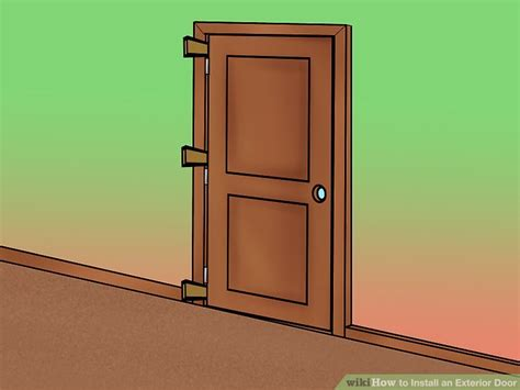 install exterior doors how to install an exterior door 14 steps with pictures