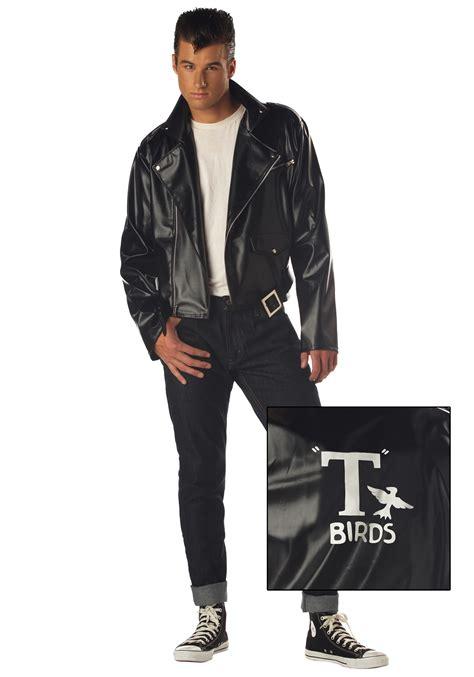 mens t bird grease jacket i95 t birds jacket 1950 mens 50s black grease danny t