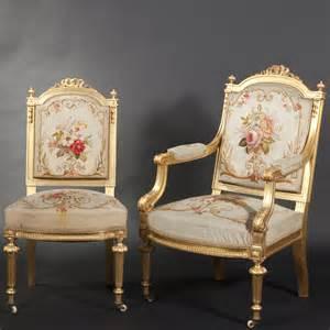 mobilier de salon en bois dor 233 de style louis xvi