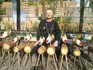 how eco friendly can a wooden reindeer be gardensite co uk