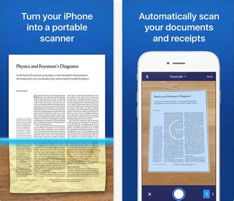 best way to scan documents to pdf best free ios and android pdf scanner app