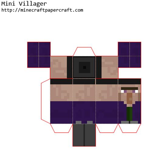 Mini Papercraft - minecraft papercraft mini witch www pixshark