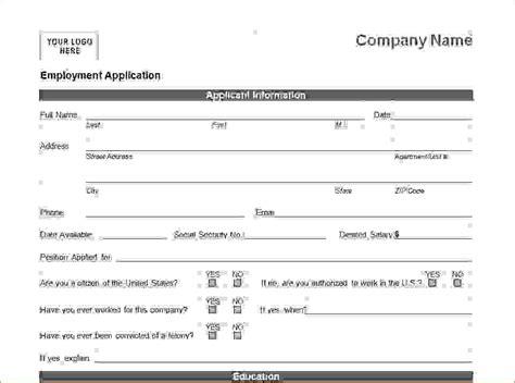 12 generic job application templateagenda template sle