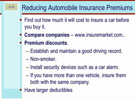 Compare Car Insurance Premium by Home And Automobile Insurance Ppt
