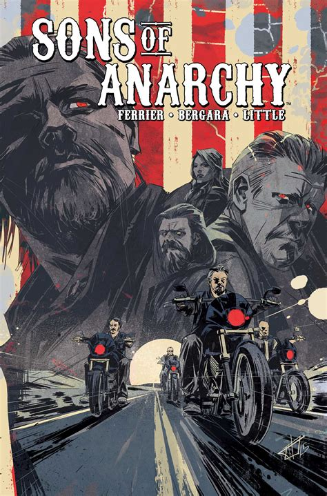 anarchy in books sons of anarchy vol 6 book by ferrier kurt sutter