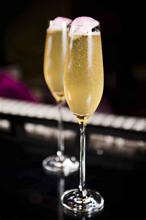Champagne cocktail cook diary