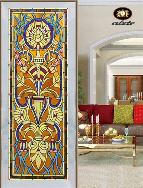 Colored Glass Doors Custom Cut The Church Entrance Doors And Screens Colored Glass House Walls Painted Glass