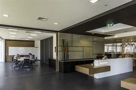 Reception Desks Brisbane Architecture Firm Thomsonadsett Golf Pinterest Receptions Sliding Doors And Brisbane