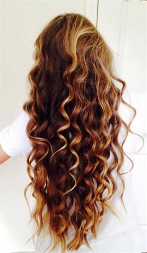 brown curly hair with highlights 25 new hair styles for curly hair long hairstyles 2016