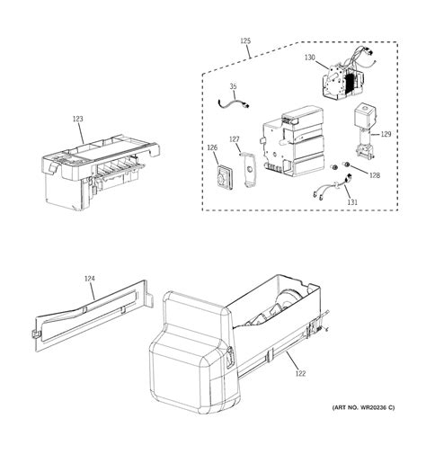 admiral refrigerator maker wiring diagram admiral
