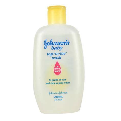 top to toe johnsons baby top to toe wash 200ml shoo lotion