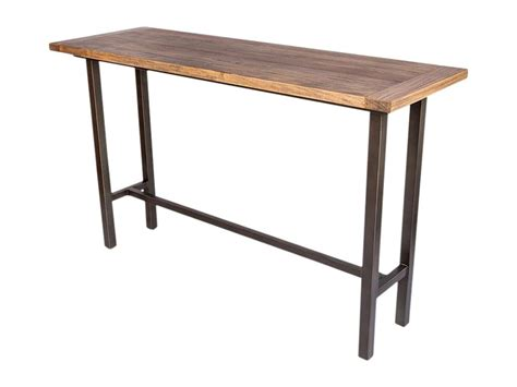 Industrial Bar Table Bar Table Hire Industrial Tapas Table Hire 1800mm X 600mm X1100mm High Indoor Use Only