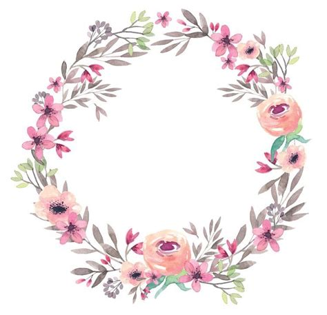 Undangan Vintage Colour pin by erika on watercolor watercolor flower frame and wallpaper