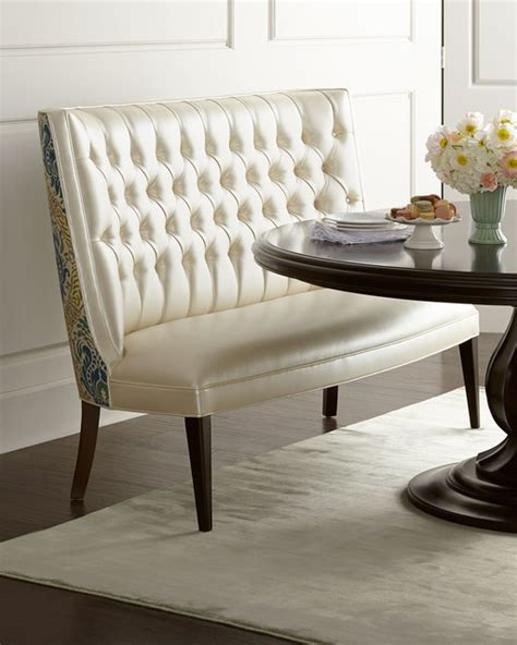 Modern Dining Banquette by Banquette White Dining Chairs