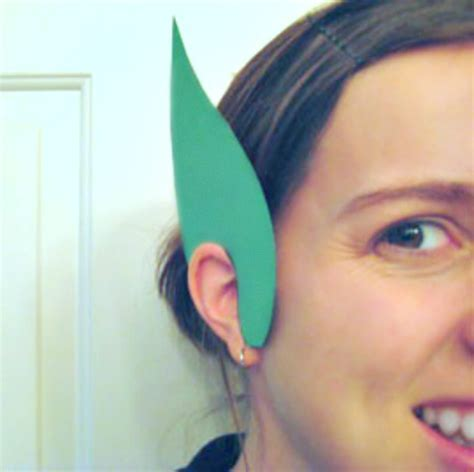 How To Make Paper Ears - make paper leprechaun ears make and takes