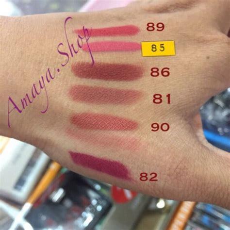 Purbasari Color Matte Lipstick 85 lipstick purbasari color matte 82 85 86 87 90 purbasari