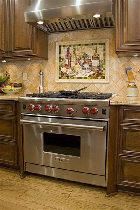 Wine Kitchen Theme by Featured Wine Mosaic Theme For Wine Collectors Kitchen
