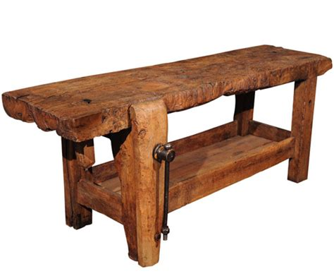 old wooden work bench solve a workbench mystery popular woodworking magazine