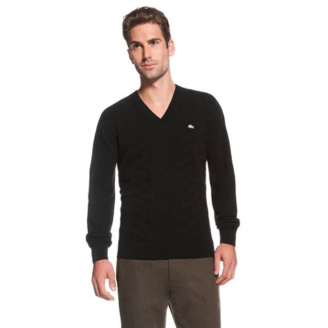 And Sweater I Black black v neck sweater for mania