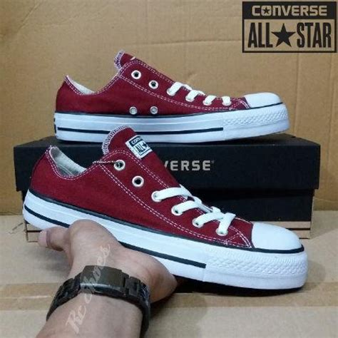 Sepatu Converse Untuk Cowok jual beli sepatu pria wanita converse allstar santaisekolahkuliahkerjadll berkualitas baru