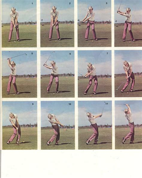 lee trevino golf swing sequence great golf swings