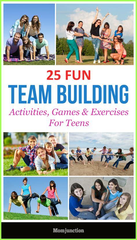 best team activities team building activities for exercises
