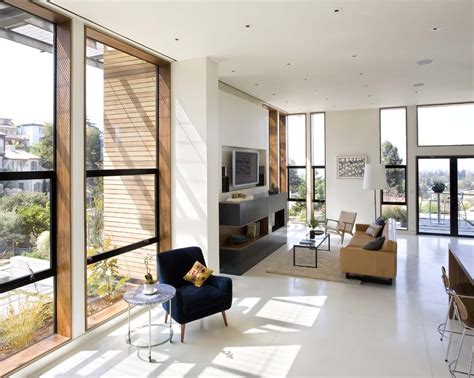 concrete living room floor white concrete floors dining room midcentury with bar bar