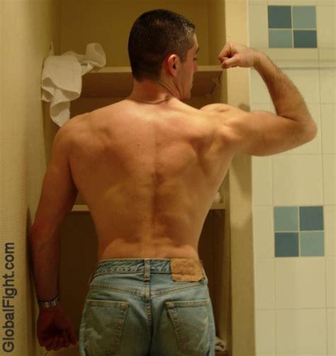 locker room bulge dormjock muscular back flexing jpeg photo globalfight photos at pbase