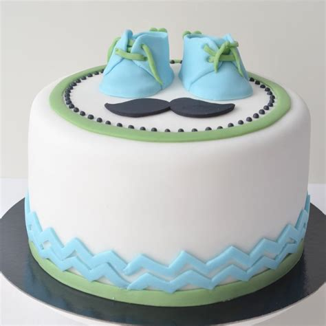 mustache cakes for baby shower baby shower moustache cake tiered cakes 4