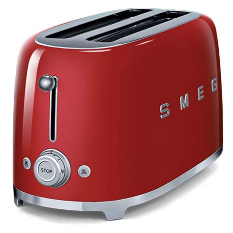 Best Toaster 50 Smeg Tsf02rduk 50 S Retro Style 4 Slice Toaster In
